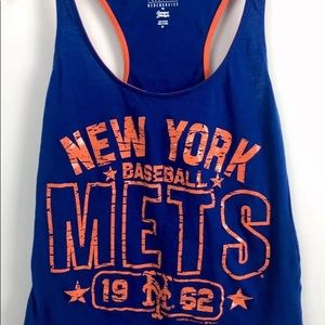 New York Mets MLB glitter women's tank top XS